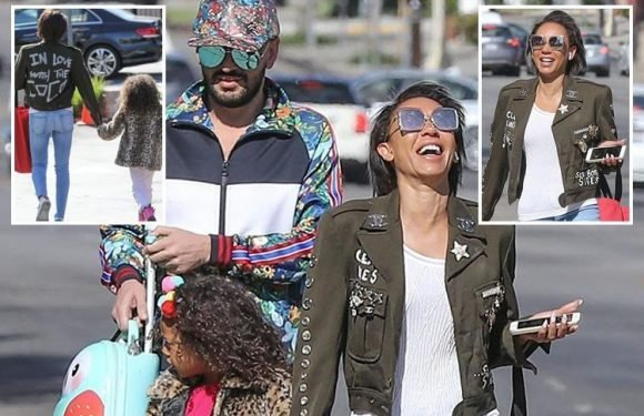 Mel B wears controversial 'In Love With The Coco' jacket… but does she know what it REALLY means?
