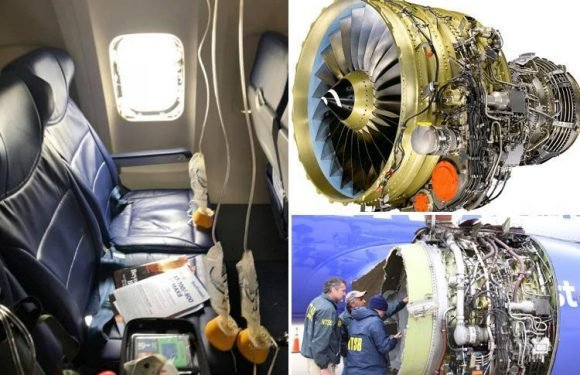 Emergency safety checks on planes around the world amid fears engine problem that caused Southwest passenger to be sucked out of cabin could happen again
