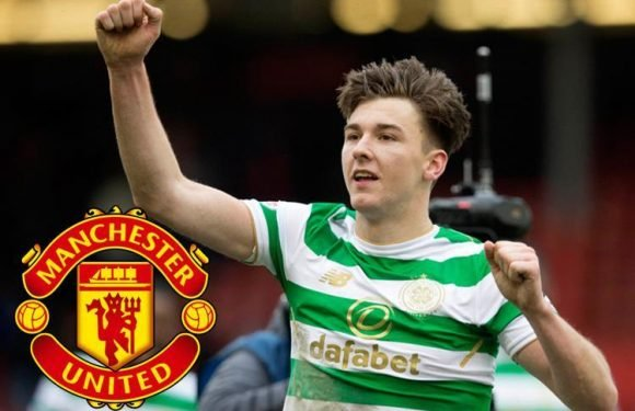 Manchester United boss Jose Mourinho 'sends scouts to watch Celtic starlet Kieran Tierney' in Old Firm derby against Rangers