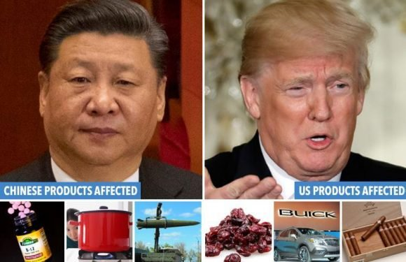 China warns it will 'fight Donald Trump at ANY cost' fuelling trade war that could rock global economy