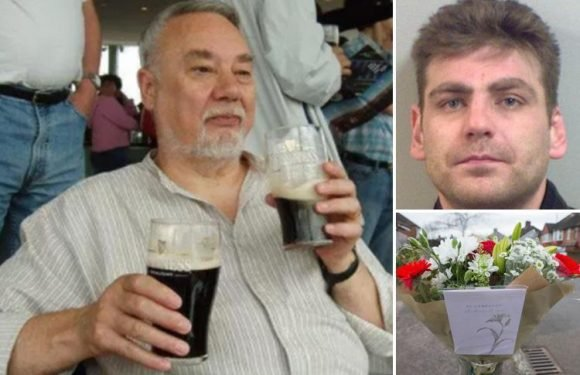 Pals of OAP Richard Osborn-Brooks released without charge after knifing burglar to death in Hither Green delighted with common sense victory – as tributes left for dead career criminal