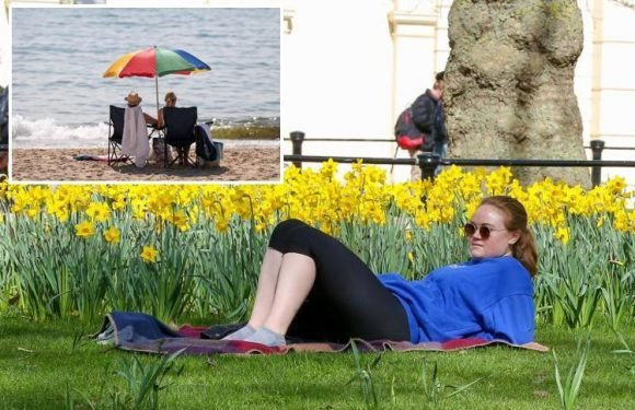 UK weather latest sees Brits set to bask in April sunshine as 21C Spanish heatwave heads for UK next week