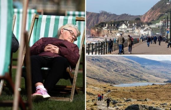 UK enjoys warmest day of the year so far and Saturday will be even HOTTER