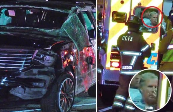 Will Ferrell rushed to hospital after his 4×4 FLIPS OVER in horror crash