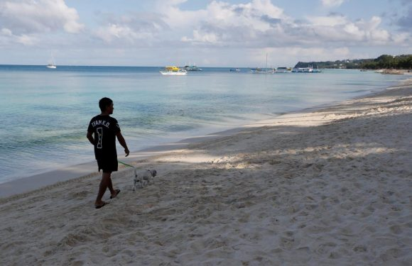 Flashes of past paradise as Philippines' Boracay empties for makeover