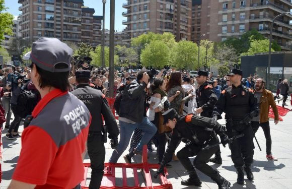 Protests in Spain as five cleared of gang rape at San Fermin festival