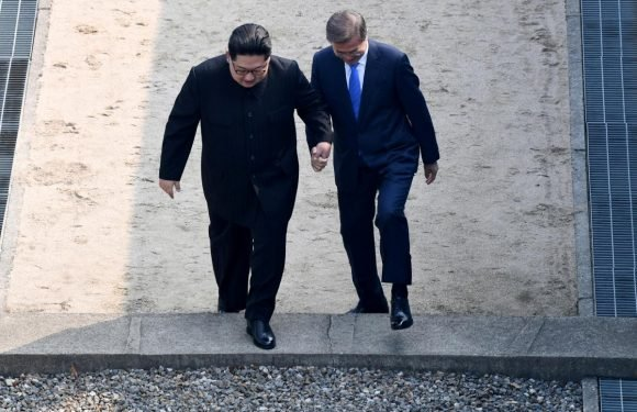 Korean leaders aim for end of war, 'complete denuclearization'…