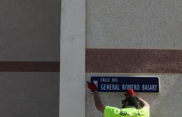 Madrid removes Franco-era place names of streets