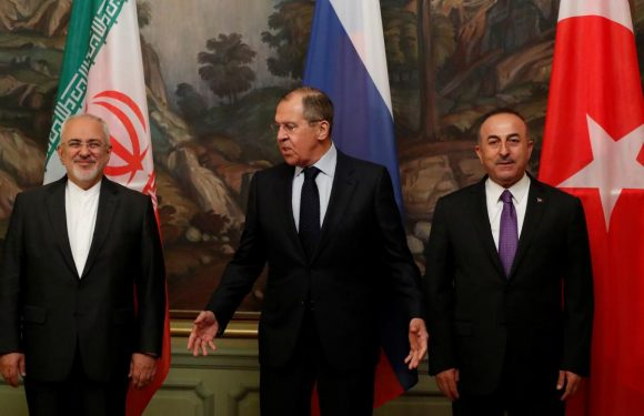 Russia, Turkey and Iran need to help clear Syria of terrorists: Lavrov