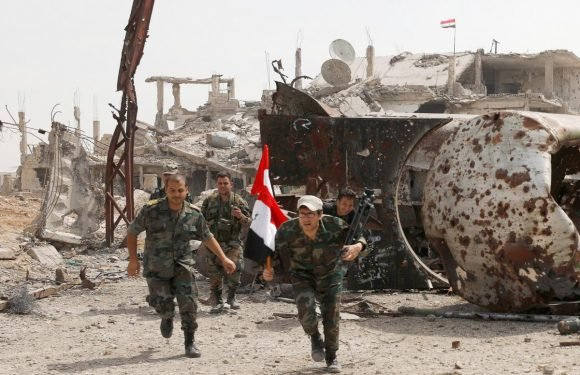 Syrian army renews push on besieged areas