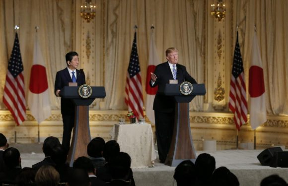 Japan's Abe, Trump agree Korean summit positive for…