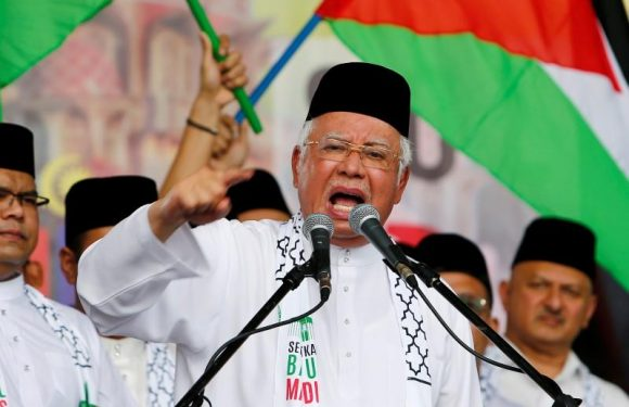 Malaysia's Najib attends cabinet meeting ahead of expected election…