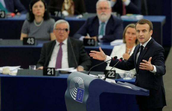 Macron to Europeans: EU is haven from world's dangers
