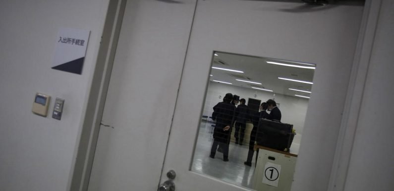 Japanese immigration detainees launch hunger strike over death