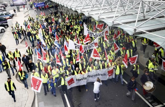 German public sector hit by second day of strikes