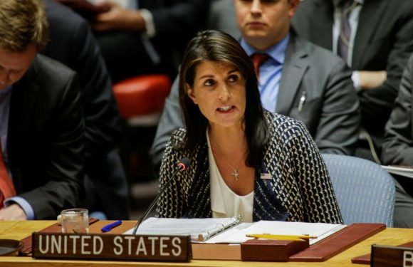 U.S.' Haley rules out one-on-one talks with Syria's Assad