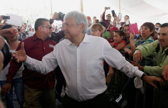 Mexico election front-runner blames country's graft for Trump's…