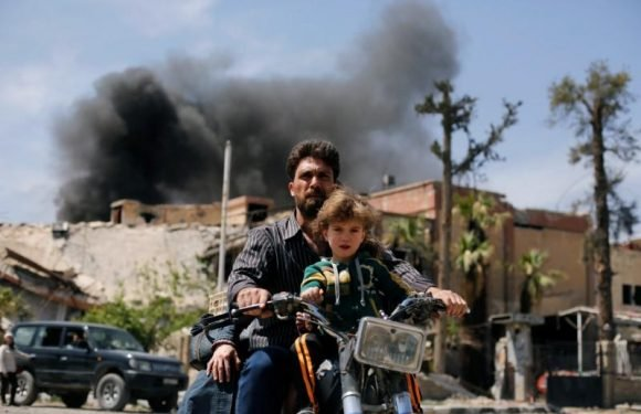 Syria attack triggered Western action, but on the ground Assad gained