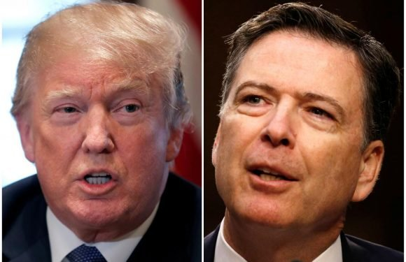 Trump contradicts himself over Comey firing