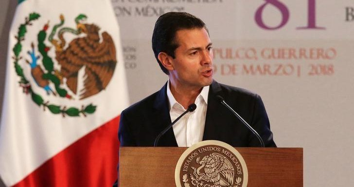 Mexico president says door open to U.S. rejoining TPP