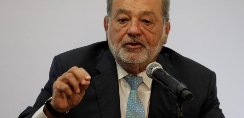 Sparring with leftist front-runner, Mexico's Slim defends airport…