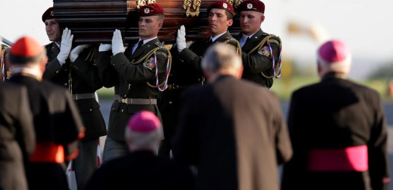 Remains of Czech cardinal persecuted by Communists brought home…
