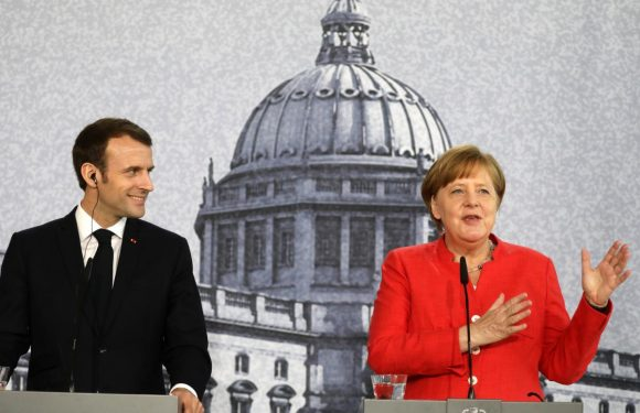 Merkel urges compromise, Macron wants solidarity on euro zone reforms