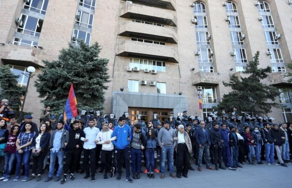 Armenian opposition demands early election on eighth day of protests