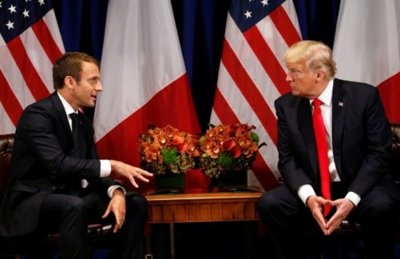 Trump, France's Macron to discuss Iran nuclear deal next week