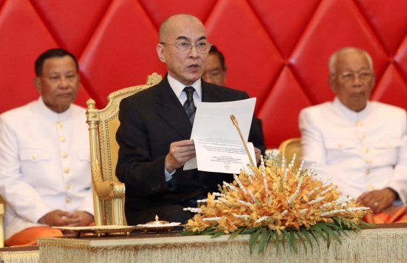 Cambodia king urges Senate dominated by ruling party to protect rights
