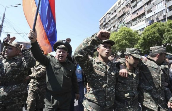 Armenian PM resigns after days of street protests