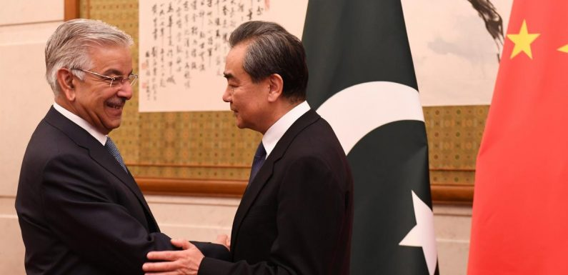 China reassures Pakistan on ties ahead of Xi's meeting with India's…