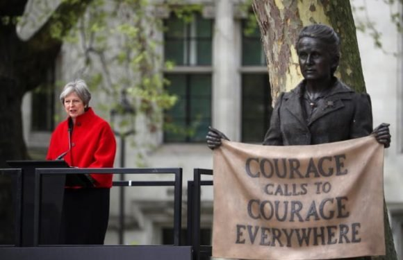 Monument to feminist trailblazer Fawcett erected outside London's…