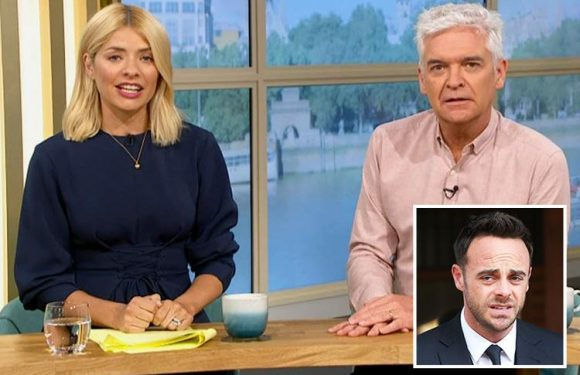 Holly Willoughby and Phillip Schofield send their love to Ant McPartlin and 'everyone involved' in his drink-drive smash after he landed record £86,000 fine