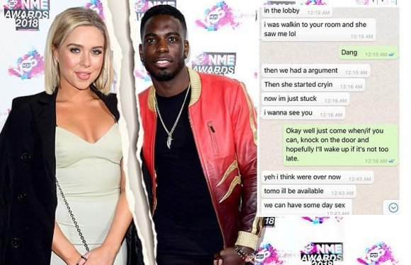 Love Island's Gabby Allen DUMPS Marcel Somerville after discovering he bedded another woman behind her back while they were on holiday TOGETHER