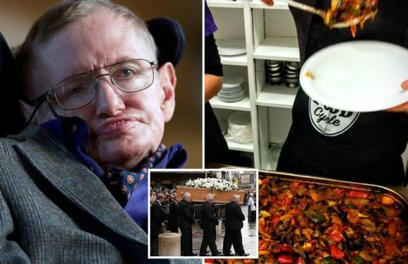 Stephen Hawking paid for huge Easter feast for 40 homeless people in 'incredible' final gift