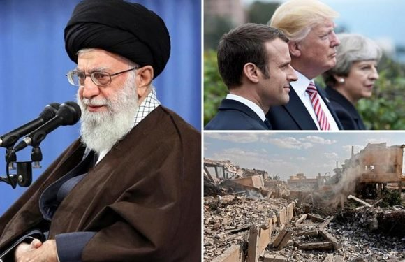 Syria strikes latest – Iran's supreme leader Ayatollah Ali Khamenei brands Trump, May and Macron 'criminals' as he hits out over bombings