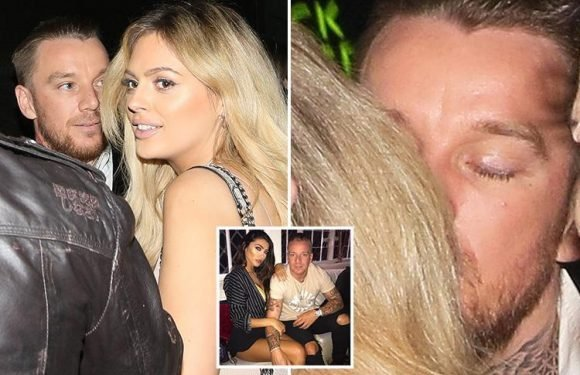 Jamie O'Hara spotted kissing Love Island's Danielle Sellers as they leave party while fiancée Elizabeth-Jayne Tierney posts cryptic cheating lyrics