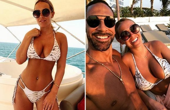 Rio Ferdinand's girlfriend Kate Wright signs up with new celebrity agent to relaunch showbiz career – six months after quitting Towie