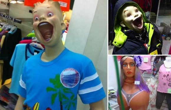 Shoppers share snaps of VERY strange mannequins… and some are enough to give you nightmares