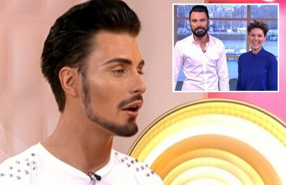 Rylan Clark-Neal pokes fun at his huge lips on This Morning in hilarious throwback video from his first day on set