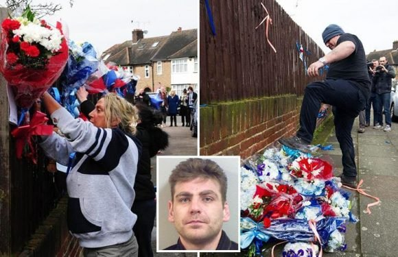 Police chief DEFENDS travellers building shrine for dead Hither Green burglar after cops 'threatened vigilantes with arrest'