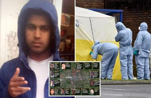 First picture of dead teen Amaan Shakoor who was shot in face 'during gang war' to become London's 49th murder victim this year