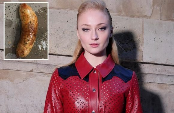 Game Of Thrones' Sophie Turner secretly reviews SAUSAGES on Instagram
