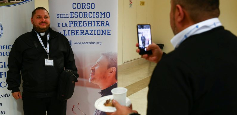 21st century exorcists learn to cast out demons with a cellphone