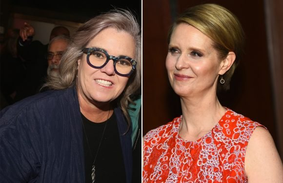 Rosie O'Donnell supports Cynthia Nixon's run for governor