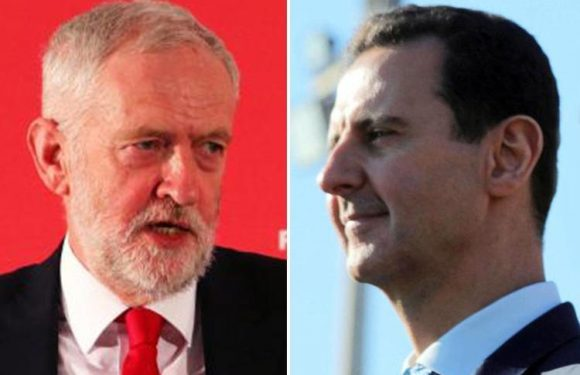 How Jeremy Corbyn and his aides have a history of standing up for the Syrian dictator