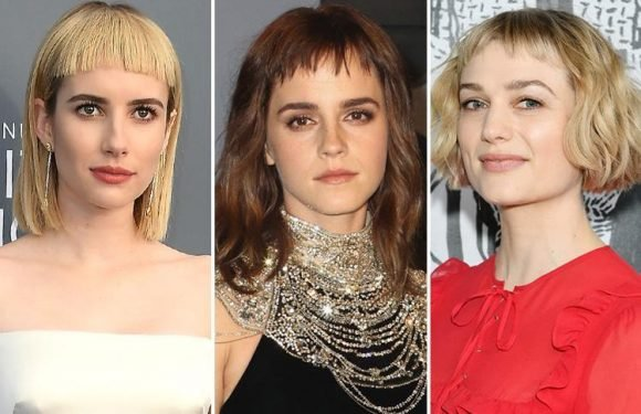 'Baby bangs' are the latest hair trend but we're not sure we're on board… sorry Emma Watson