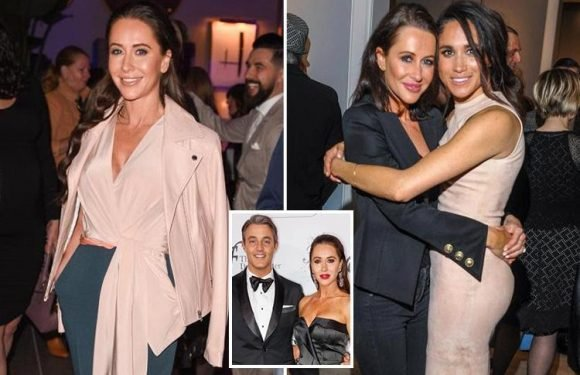 Will she out-sparkle Ms Markle? Meghan's best friend Jessica Mulrooney could 'upstage' the bride at the royal wedding, says a friend