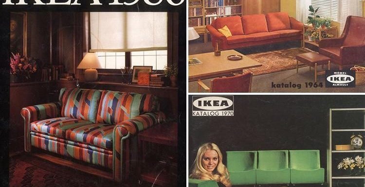 Retro Ikea catalogues show how the perfect home has looked over the